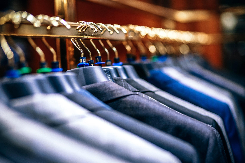 giacche in negozio