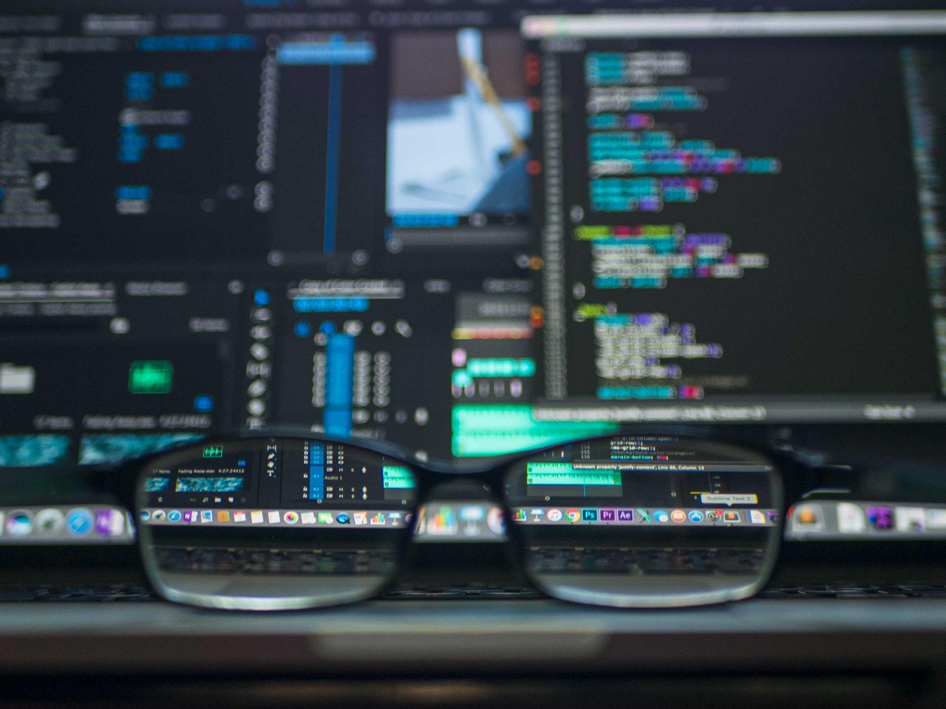computer con dati
