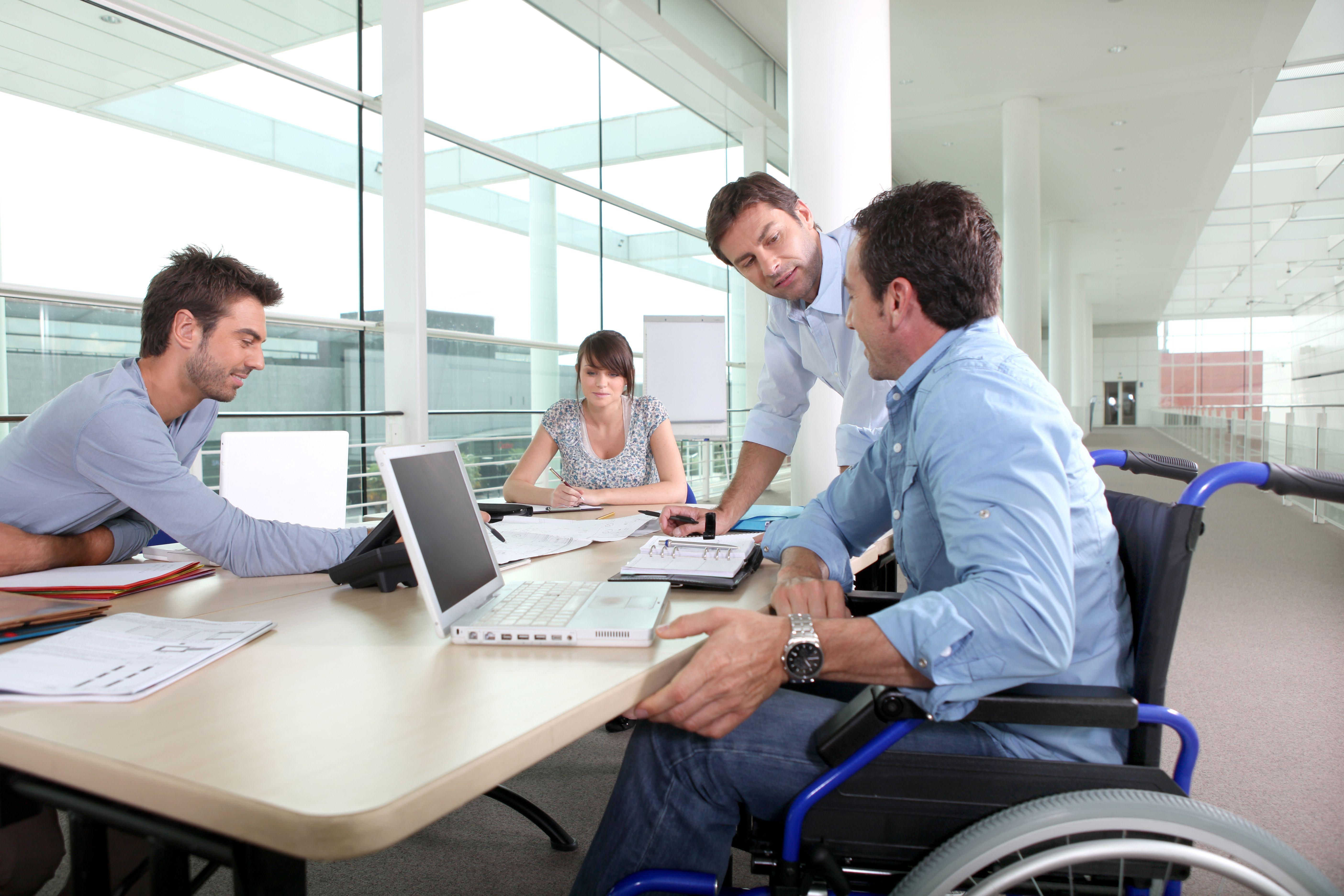 persona disabile assunto in azienda