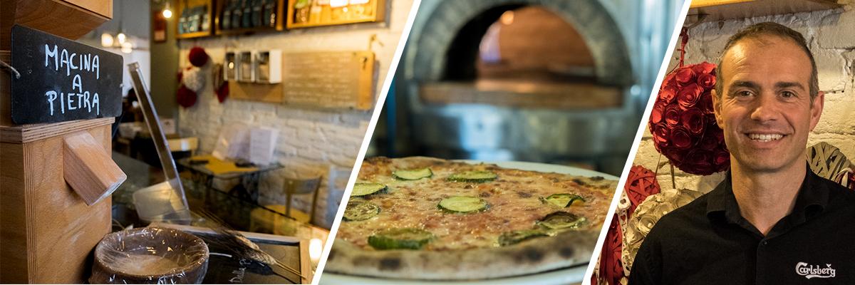 Pizzeria Mastika e Massimo Stellato