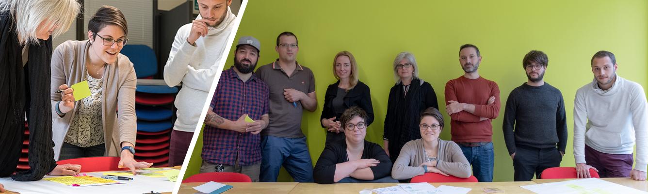 Partecipanti al corso di Design Thinking