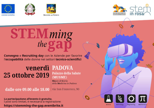 STEMming the gap: conferenza e recruiting day con le aziende per favorire l'occupabilità nei settori tecnico-scientifici