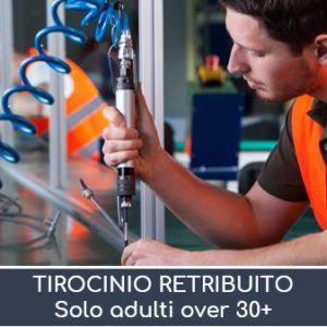 Work Experience over 30 Operatore Meccanico