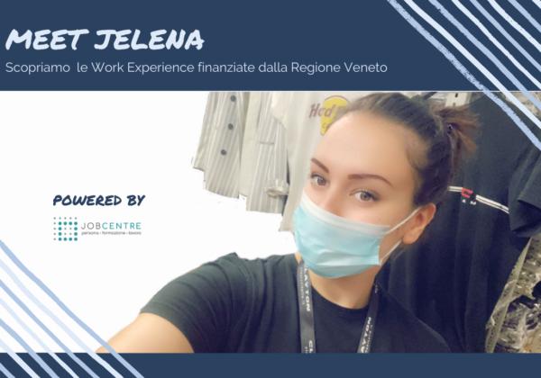 """Dal percorso di Work Experience alla scelta di riprendere gli studi: Jelena guarda al futuro, """"lavorerò nel marketing""""."""
