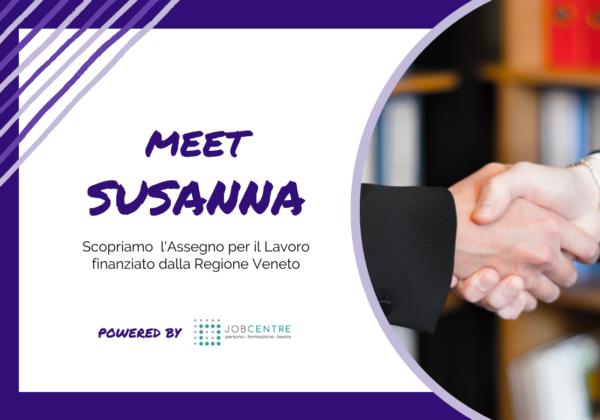 """Susanna: """"Cercavo un percorso che arricchisse il mio profilo professionale: l'ho trovato con Job Centre"""""""